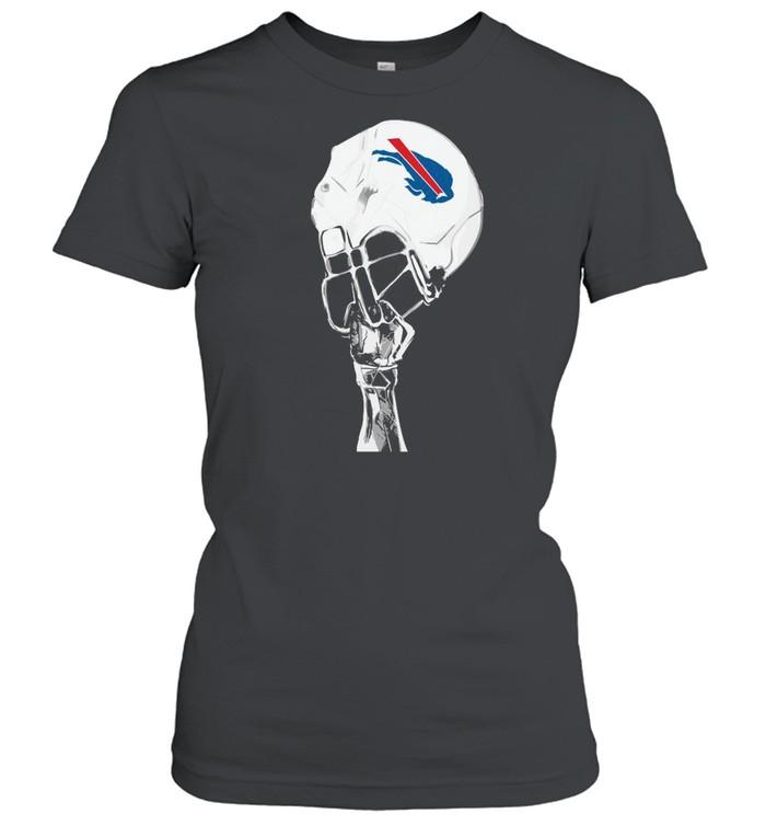 The Buffalo Bills Hat Helmet 2021 shirt Classic Women's T-shirt