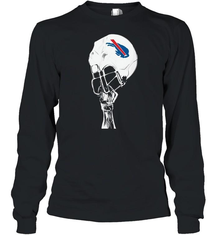 The Buffalo Bills Hat Helmet 2021 shirt Long Sleeved T-shirt