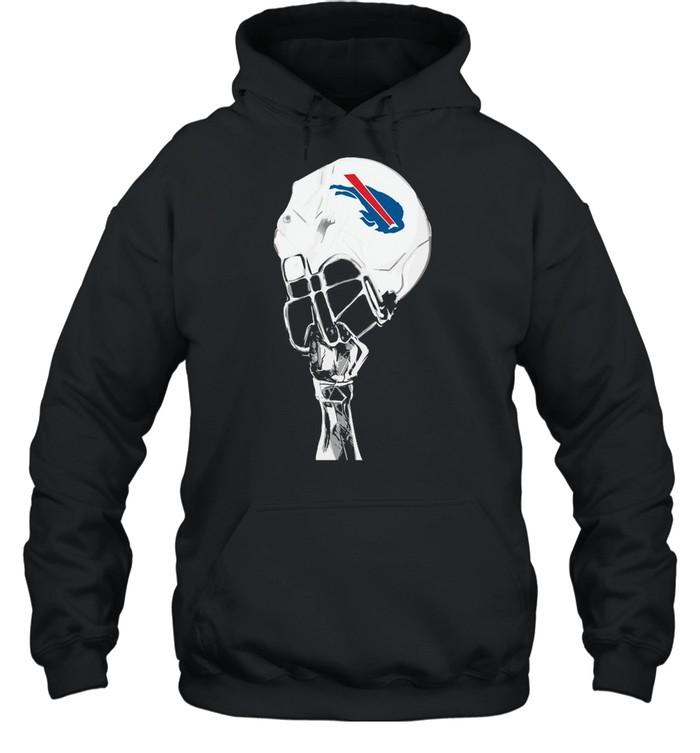 The Buffalo Bills Hat Helmet 2021 shirt Unisex Hoodie