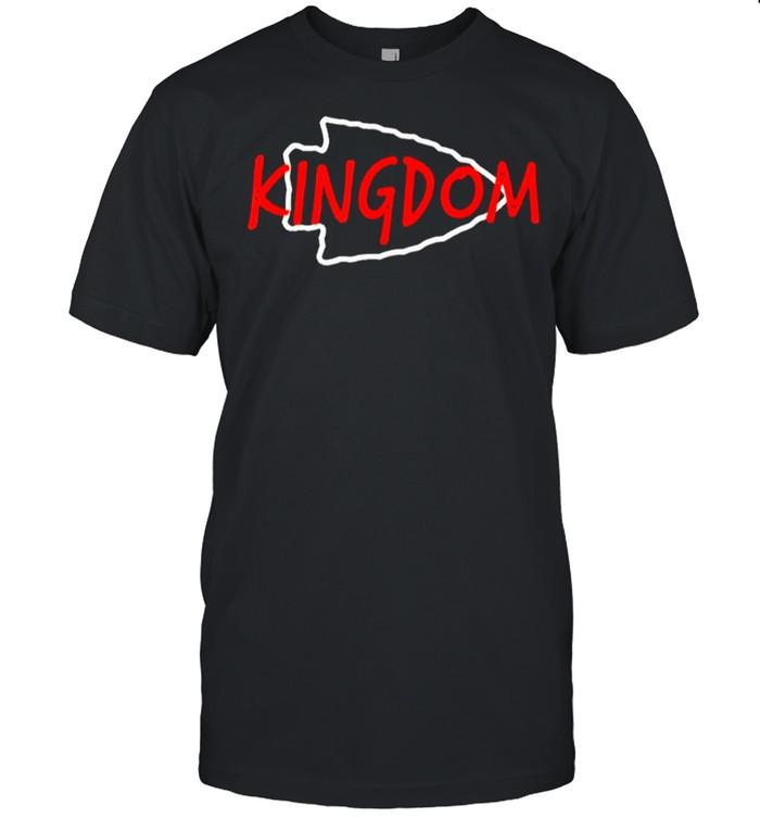 Kansas City Football Kingdom Vintage KC Missouri Fan Gift shirt Classic Men's T-shirt