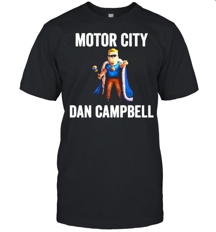 Motor city dan campbell shirt Classic Men's T-shirt