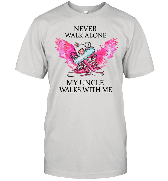 Chuck And Pearls Never Walk Alone My Uncle Walks With Me shirt Classic Men's T-shirt