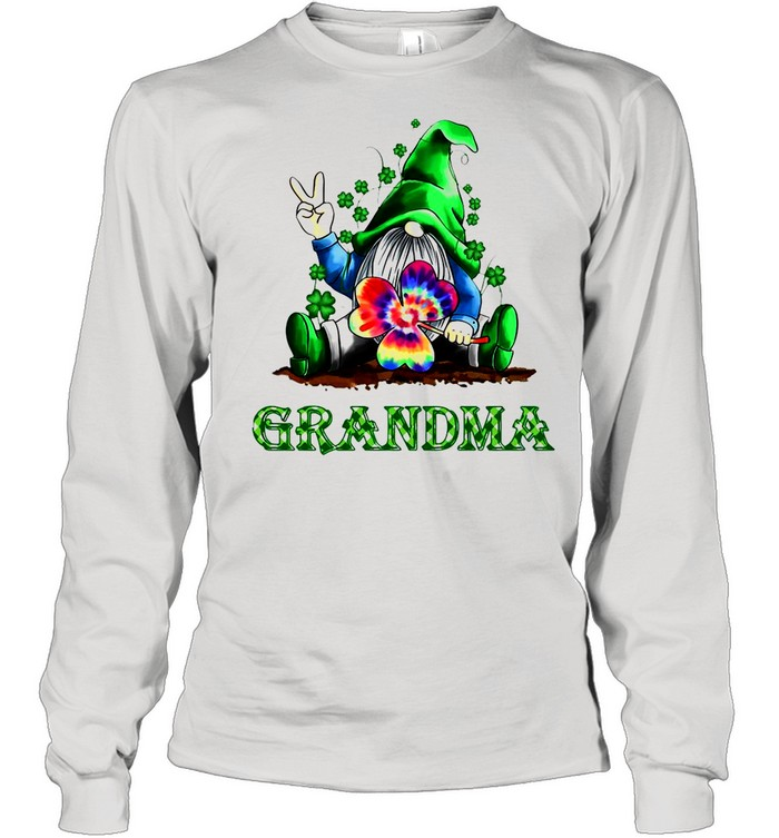 Grandma Patrick's Day Grandma shirt Long Sleeved T-shirt