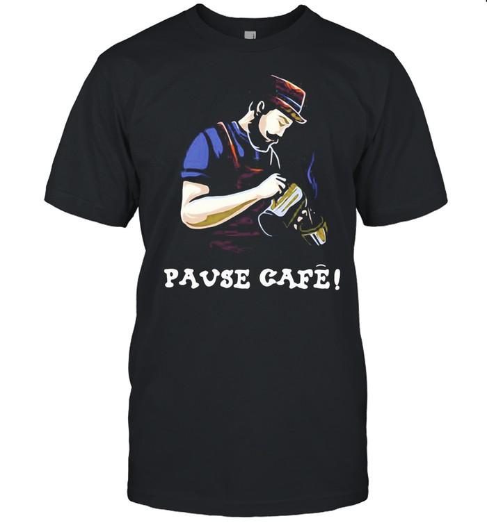 Pause Cafe The Bartender shirt Classic Men's T-shirt