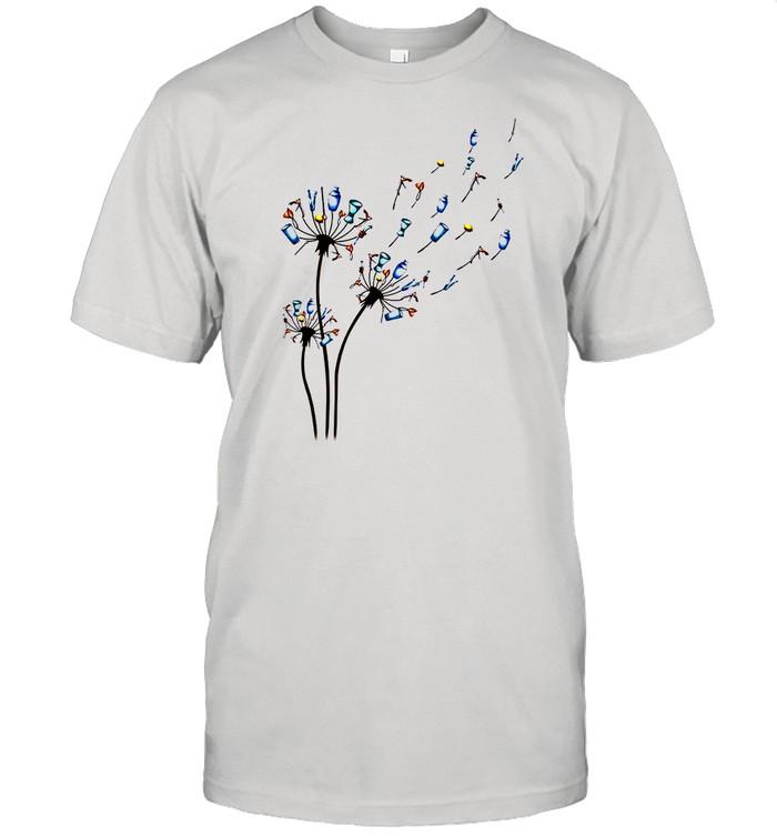 Dandelion Bartender Flower shirt Classic Men's T-shirt