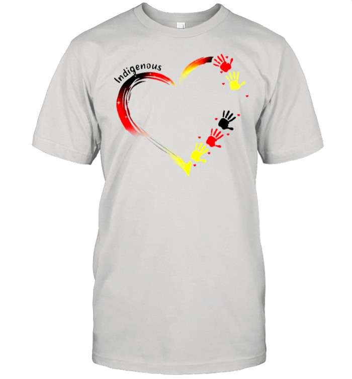 Heart Indigenous Hands shirt Classic Men's T-shirt
