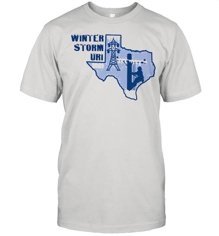 winter storm uri 2021 shirt Classic Men's T-shirt