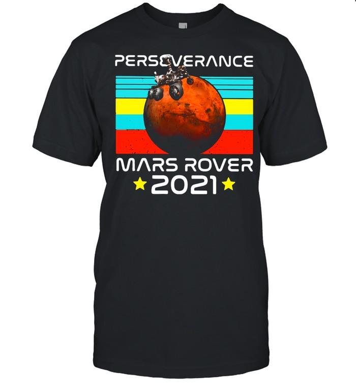Nasa Perseverance Mars Rover 2021 shirt Classic Men's T-shirt