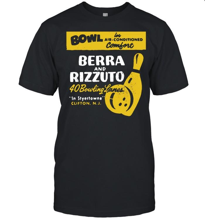 Bowl Berra And Rizzuto 40 Bowling Lanes shirt Classic Men's T-shirt