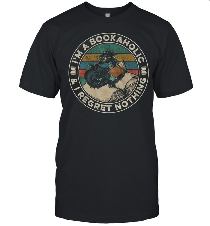 Im A Bookaholic and I Regret Nothing shirt Classic Men's T-shirt