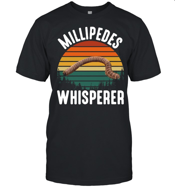 Millipedes Whisperer Vintage Retro shirt Classic Men's T-shirt