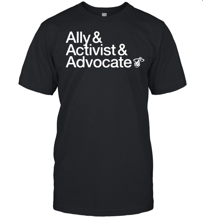 Ally and activist and advocate shirt Classic Men's T-shirt