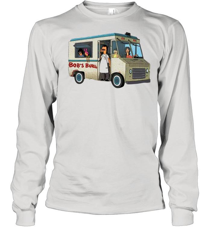 Bob's Burgers Food Truck shirt Long Sleeved T-shirt