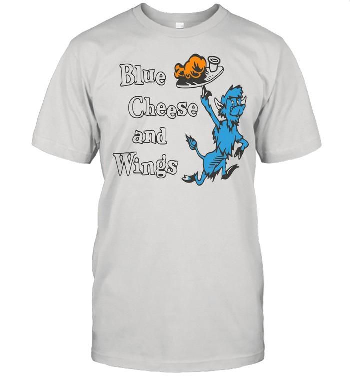 Buffalo vol 6 24 blue cheese and wings shirt Classic Men's T-shirt