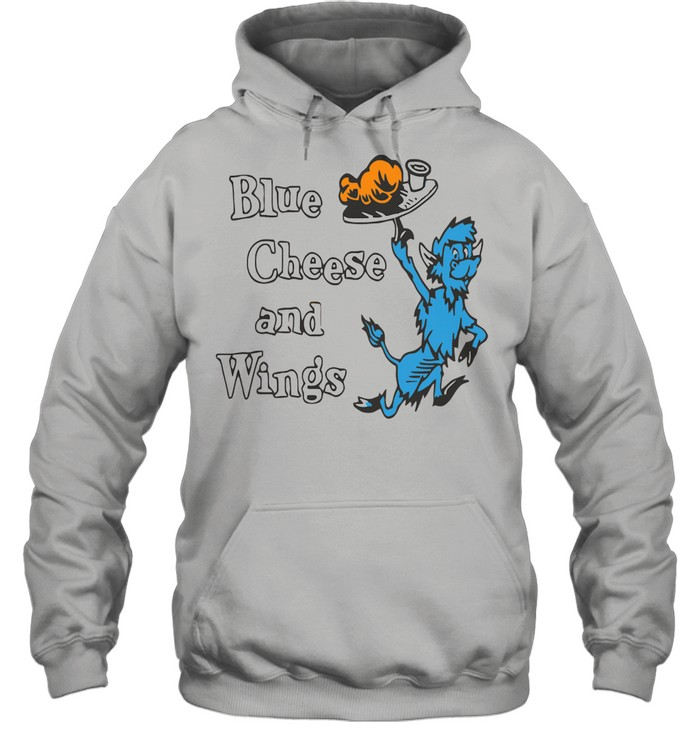 Buffalo vol 6 24 blue cheese and wings shirt Unisex Hoodie