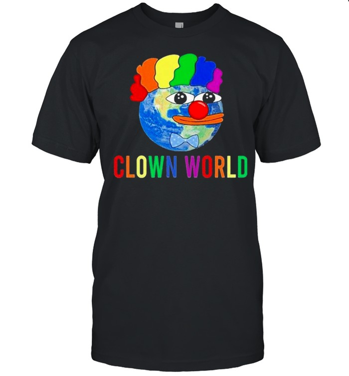 Earth Clown World Clown Pepe Honk Honk shirt Classic Men's T-shirt