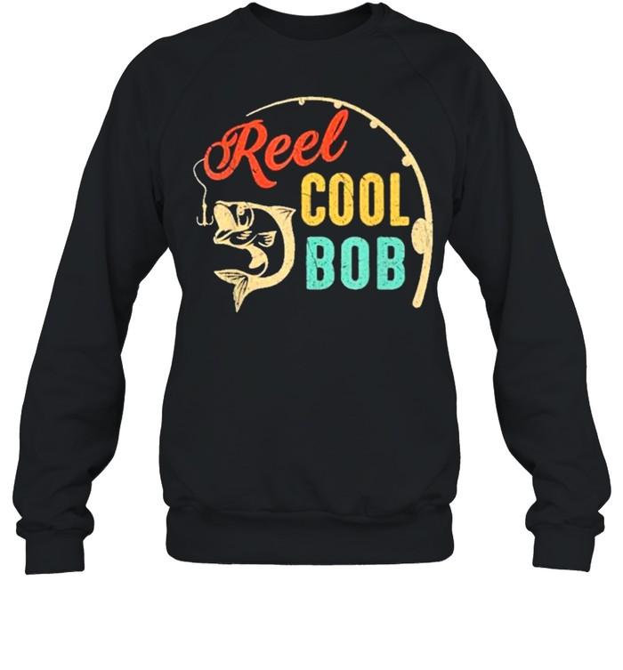 Fathers day fishing reel cool bob vintage shirt Unisex Sweatshirt