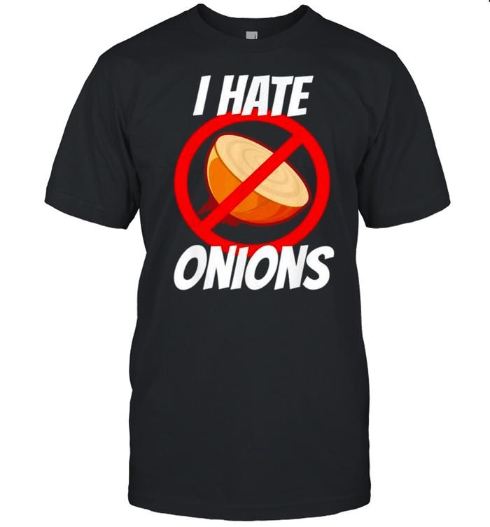 I hate onions shirt Classic Men's T-shirt