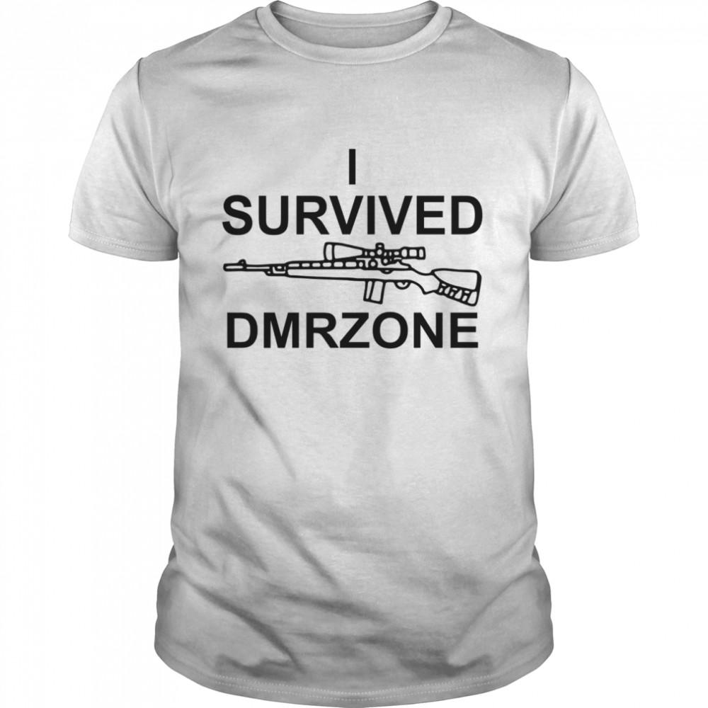 I survived dmrzone shirt Classic Men's T-shirt