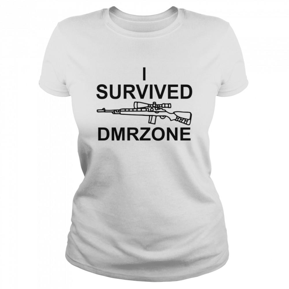 I survived dmrzone shirt Classic Women's T-shirt