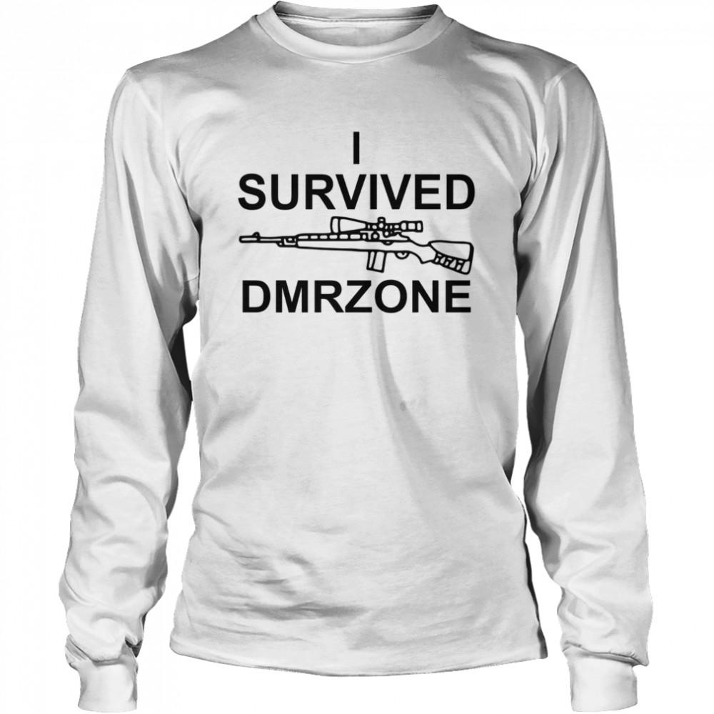 I survived dmrzone shirt Long Sleeved T-shirt