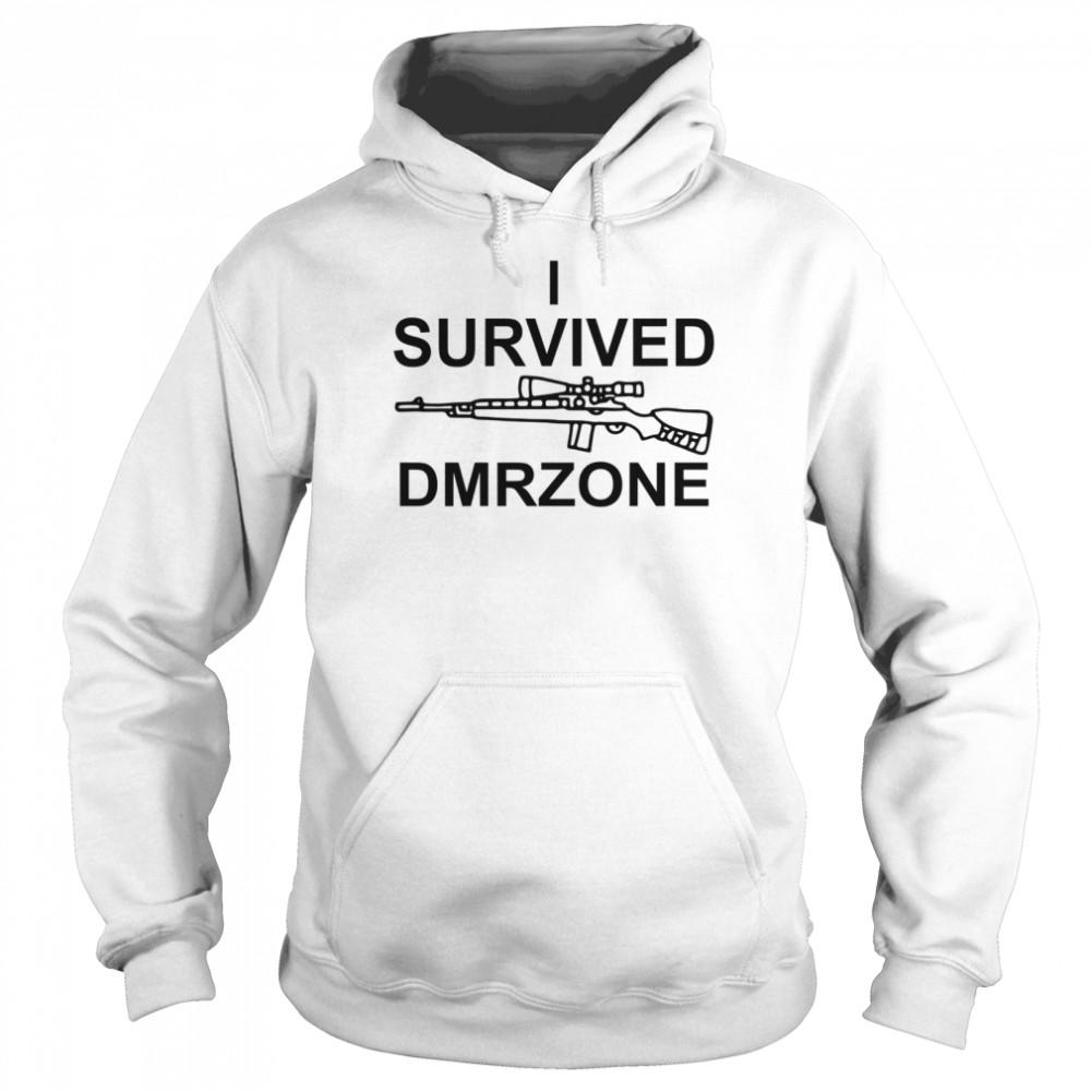 I survived dmrzone shirt Unisex Hoodie