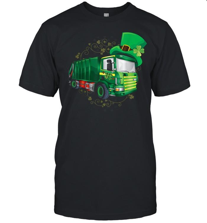 Garbage Truck Patricks Day shirt Classic Men's T-shirt