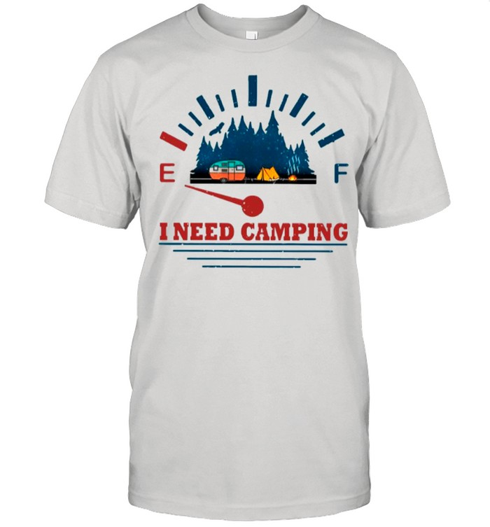I Need Camping shirt Classic Men's T-shirt