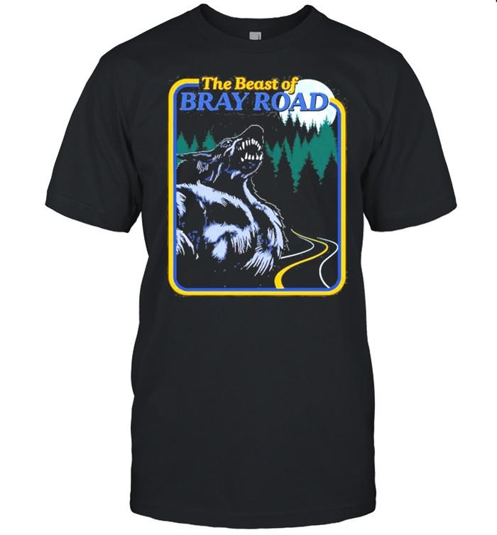The Beast Of Bray Road Retro Wisconsin Dogman Cryptid shirt Classic Men's T-shirt