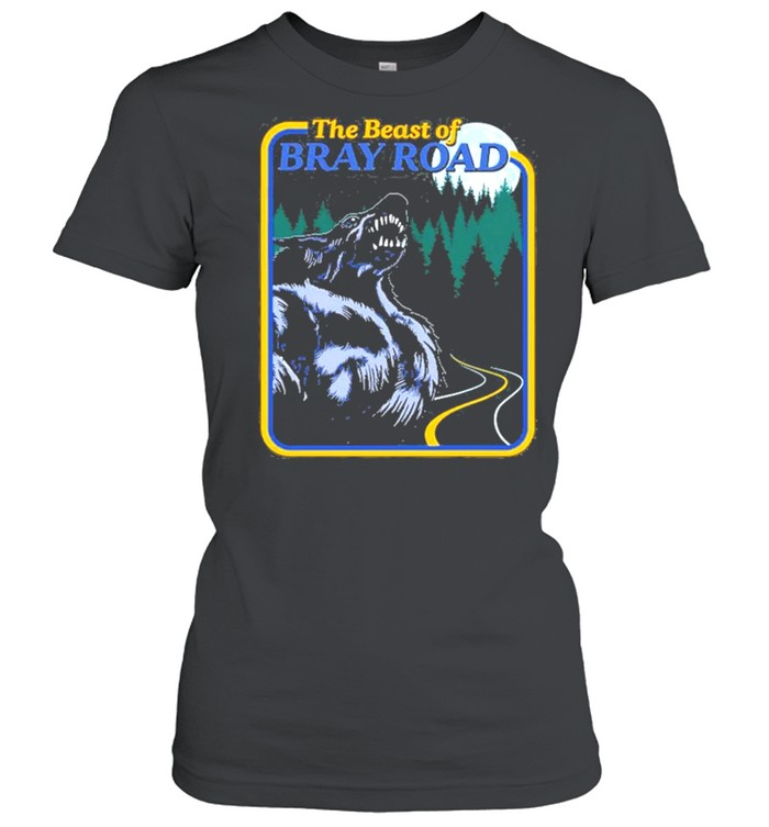 The Beast Of Bray Road Retro Wisconsin Dogman Cryptid shirt Classic Women's T-shirt