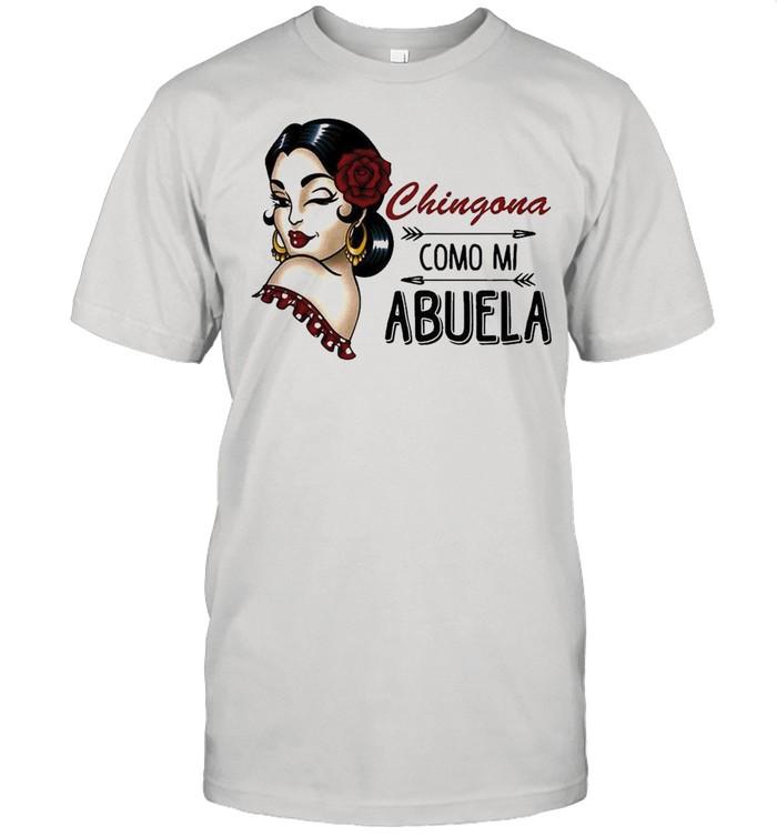 Chingona Como Mi Abuela 2021 shirt Classic Men's T-shirt