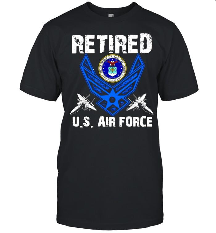 Retired U.S Air Force Veteran Patriotic Air Force Retired T-shirt Classic Men's T-shirt