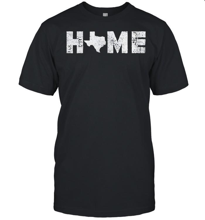 Texas is My Home Native Texan shirt Classic Men's T-shirt