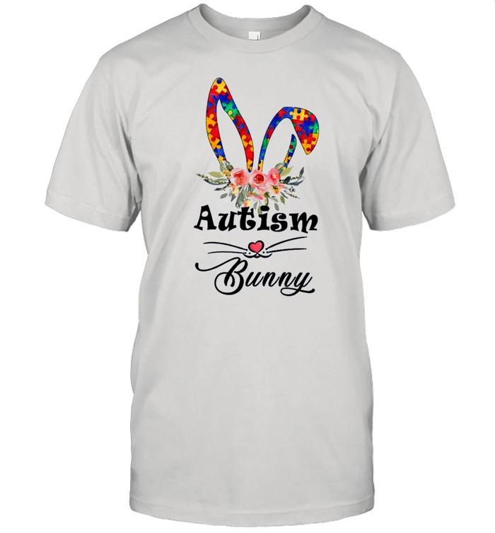 Autism Bunny Funny Autism Awareness Day 2021 shirt Classic Men's T-shirt