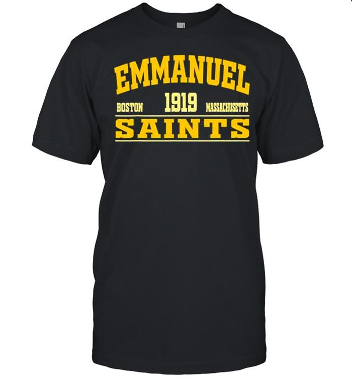 Emmanuel College Massachusetts State  Classic Men's T-shirt