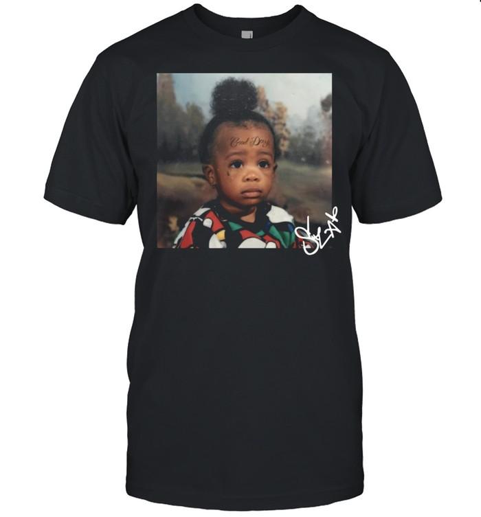 Sza good days gd baby 2021 signatures shirt Classic Men's T-shirt