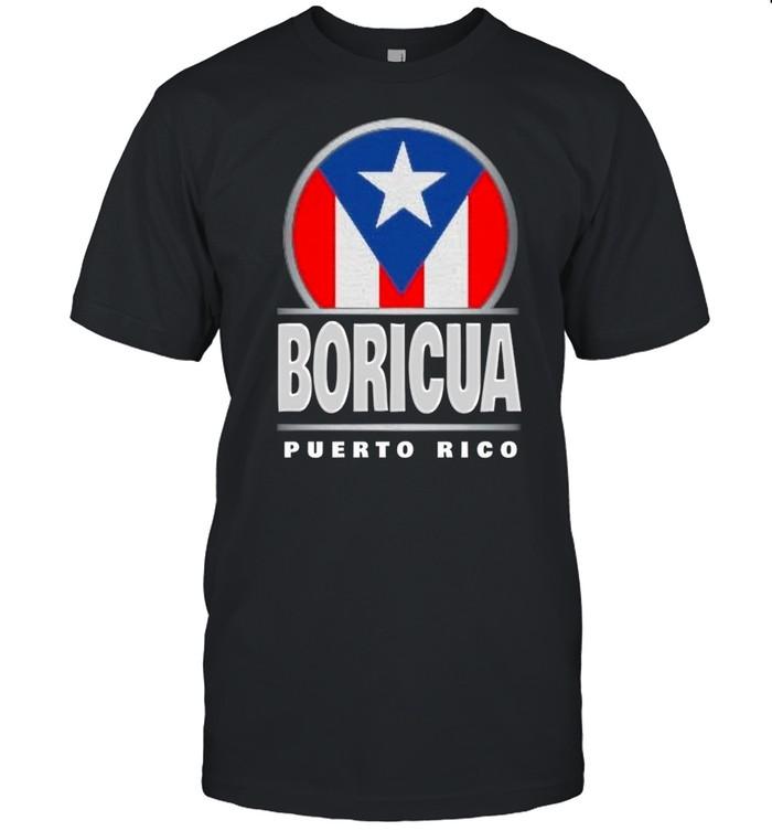 Boricua Puerto Rico Flag shirt Classic Men's T-shirt
