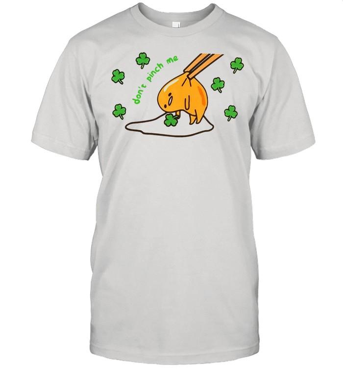 Gudetama Don't Pinch Me St. Patrick's Day T-shirt Classic Men's T-shirt