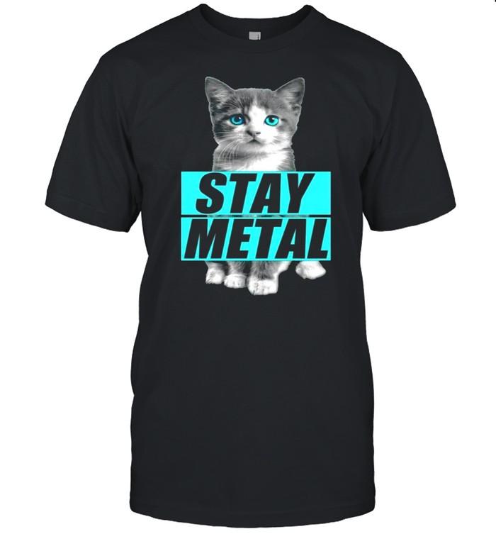 Miss May I Cat Stay Metal T-shirt Classic Men's T-shirt