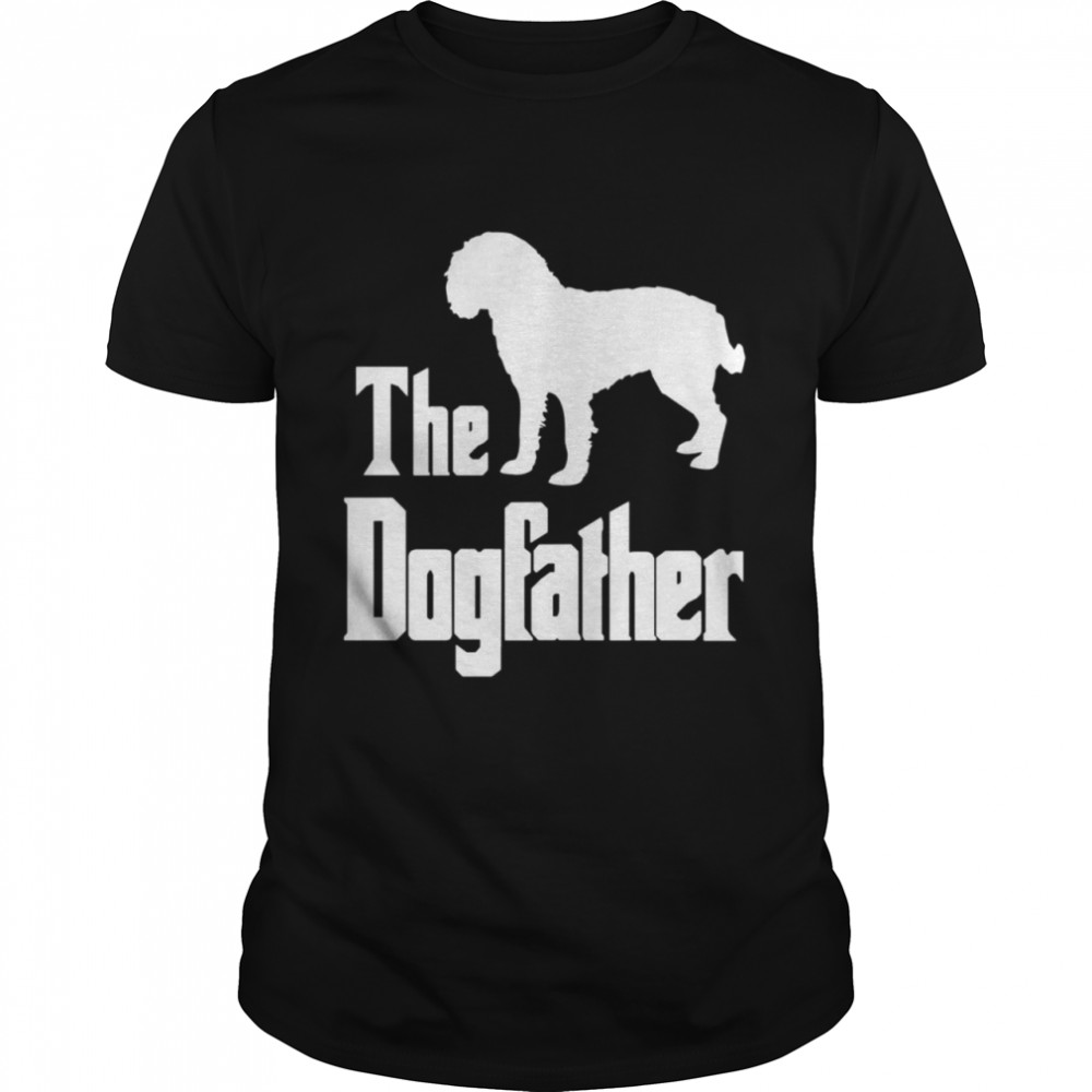 The Dogfather funny dog, American Water Hound shirt Classic Men's T-shirt