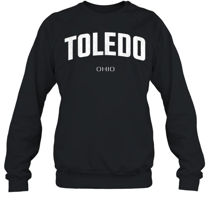 Toledo Ohio OH Vintage Athletic Sports Design Sweatshirt