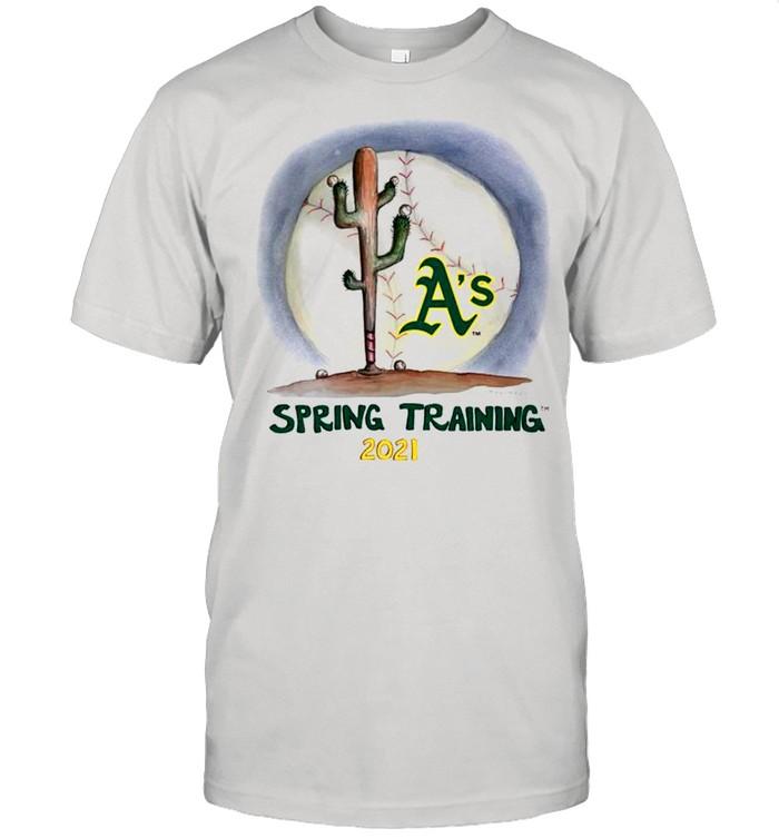 Oakland Athletics spring training 2021 shirt Classic Men's T-shirt