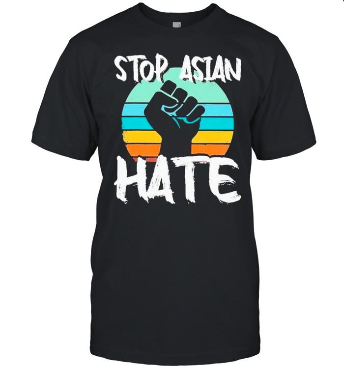 Stop Asian Hate Retro Vintage shirt Classic Men's T-shirt