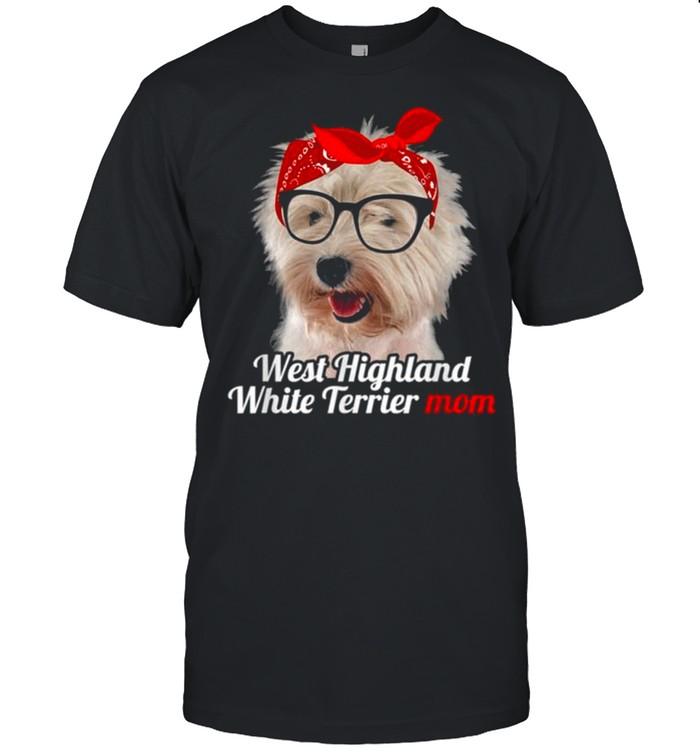 West Highland White Terrier Mom West Highland White Terrier  Classic Men's T-shirt