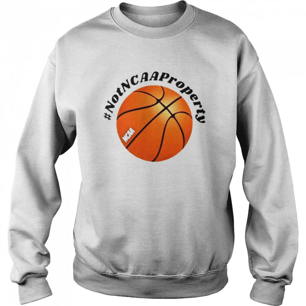 2021 #Not NCAA property shirt Unisex Sweatshirt
