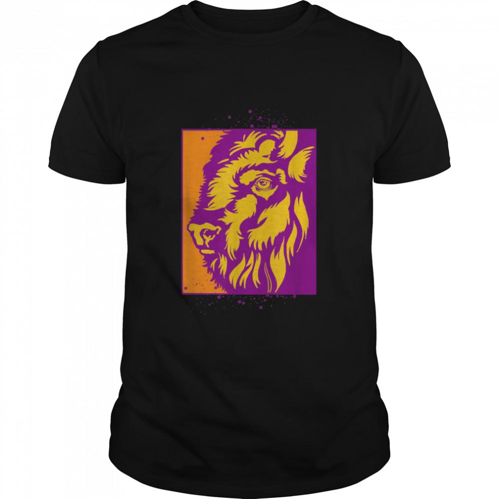 American Bison Nature Mountains Countryside Buffalo shirt Classic Men's T-shirt