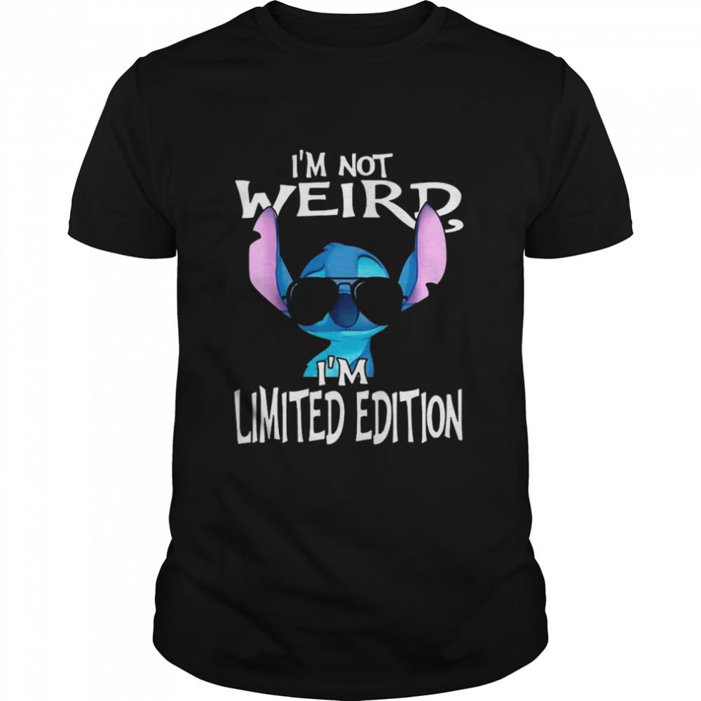 Baby Stitch I'm Not Weird I'm Limited Edition shirt Classic Men's T-shirt