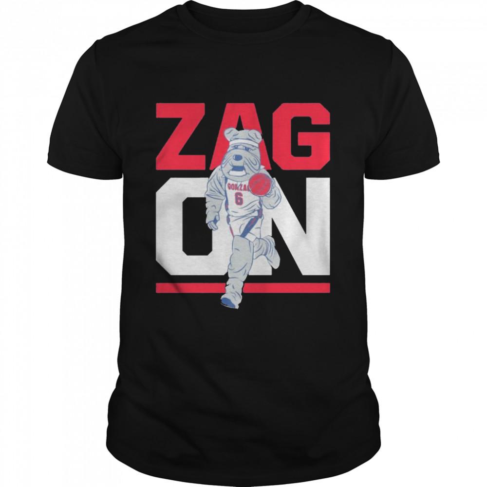 Gonzaga Bulldogs zag on shirt Classic Men's T-shirt