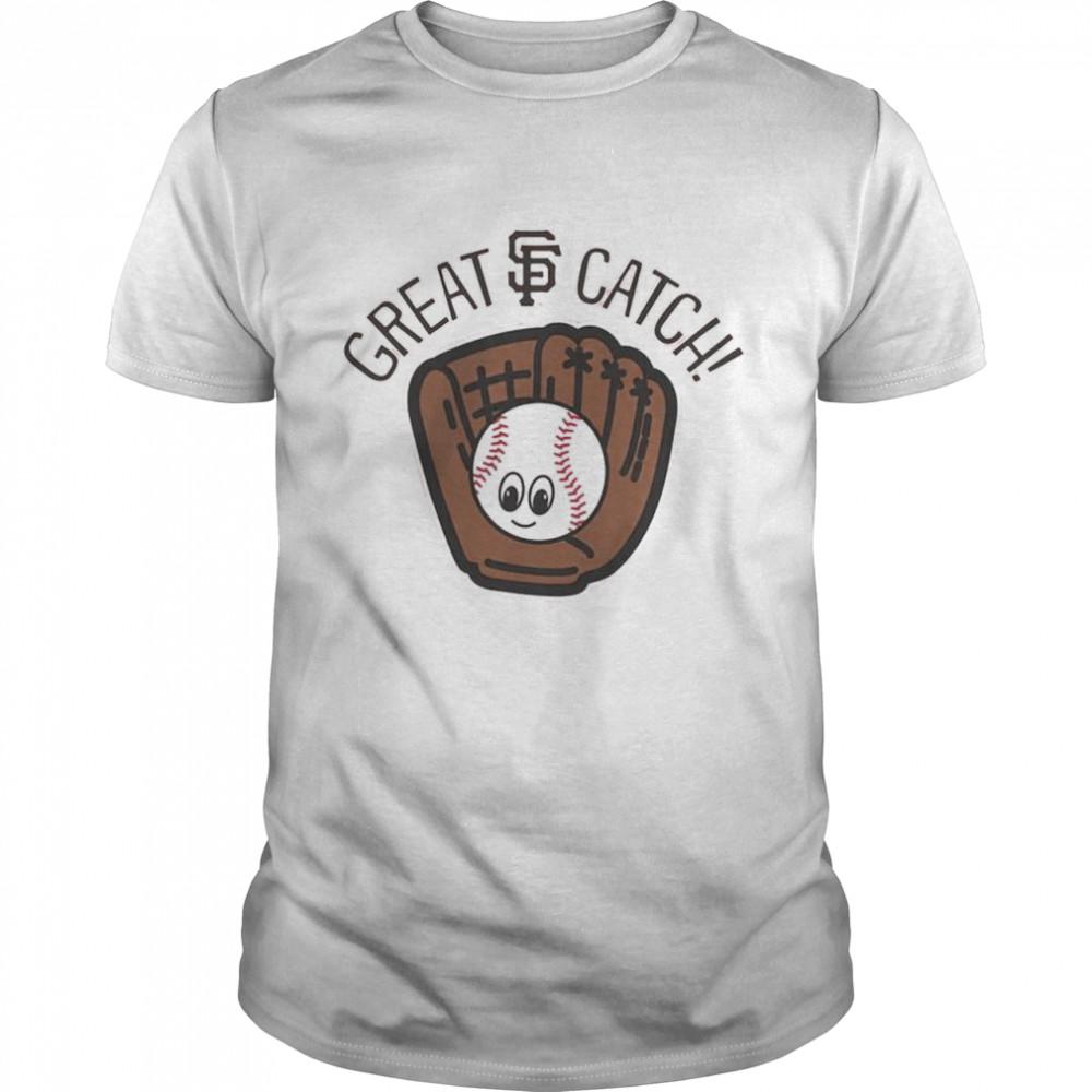 San Francisco Giants Toddler Great Catch shirt Classic Men's T-shirt