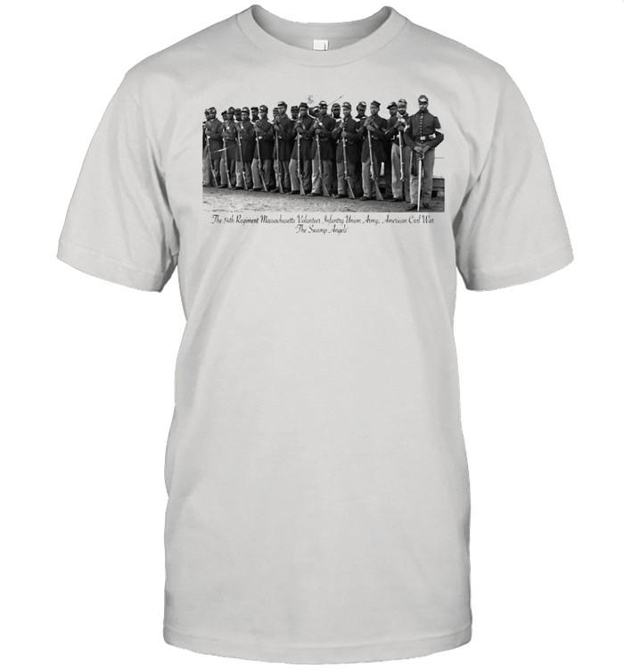 US Civil War Legacy All Black Regiment  Classic Men's T-shirt